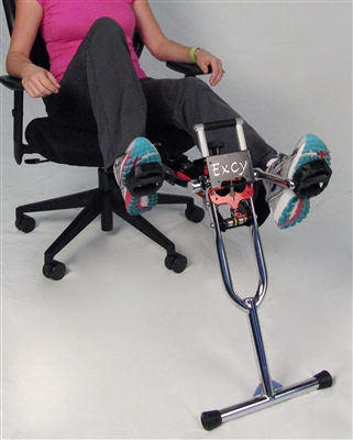 excy rxt turns any chair into a recumbent exercise bike bike office chair